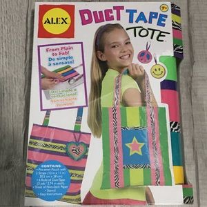 NEW Alex Toys Duct Tape Tote Do it Yourself